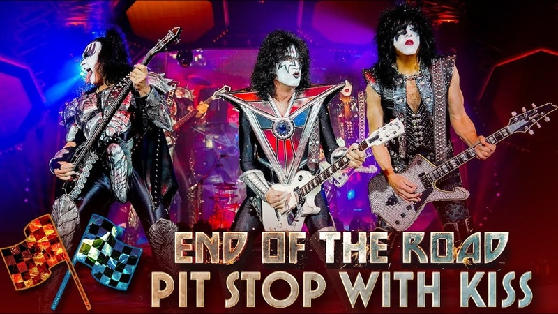 KISS Pit Stop with Paul Stanley's Guitar Tech End Of The Road Tour