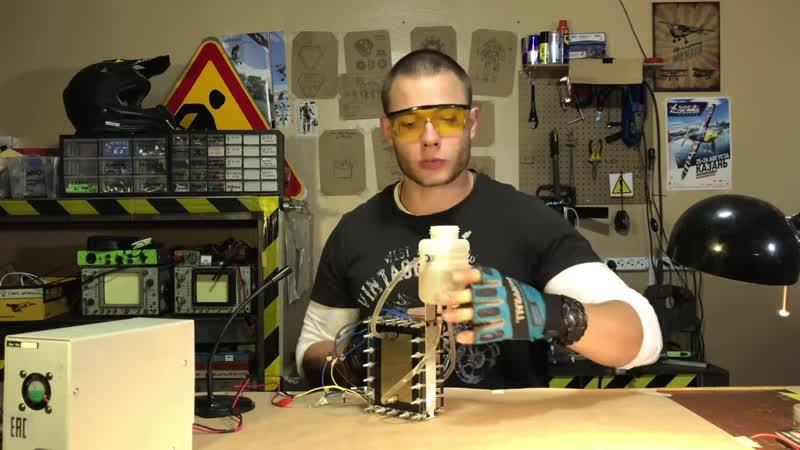 Alex Burkan DIY Генератор водорода: Часть 2. Запуск электролизера