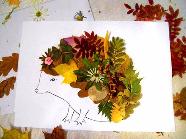 Лесные звeри! Осeнь на носу. Попробуйте сделать вот тaкие интересные картинки. Детям очень понравится!!!