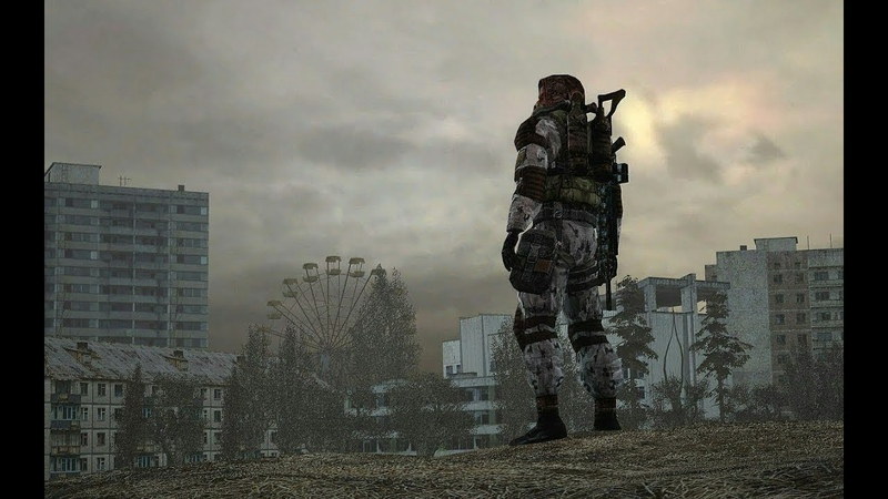 Прохождение и видео обзор игры S.T.A.L.K.E.R. - Call of Chernobyl v.6.03 путешествие по СВАЛКЕ