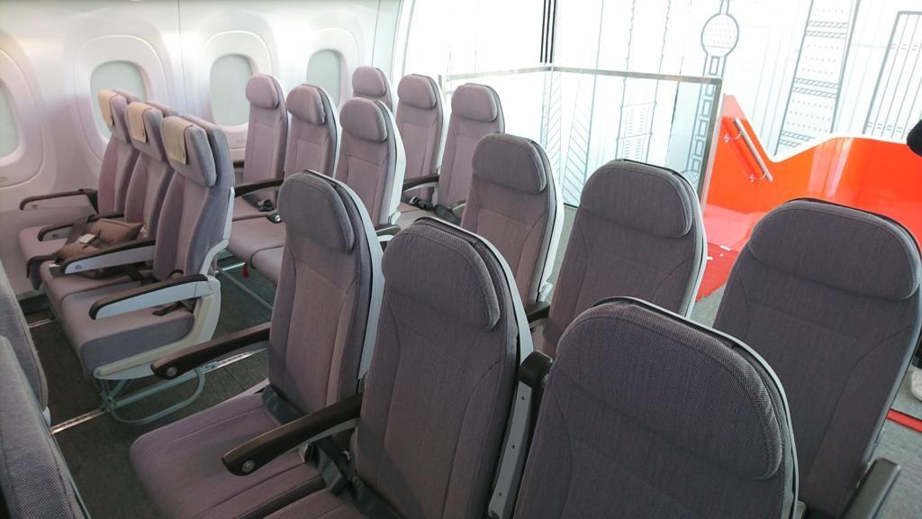 На выставке МАКС представили проект CR929, оснащенный «уникальными» креслами из Дубны