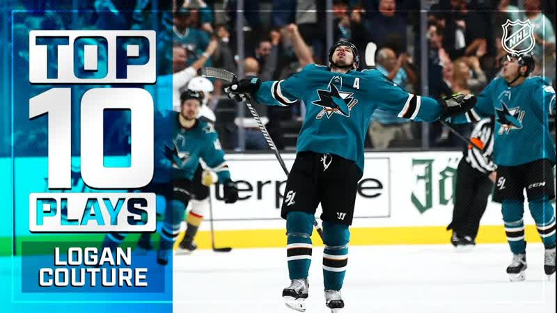 Top 10 plays of 2018-19: Couture Jul 21, 2019