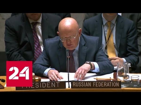 Россия и Китай ветировали западную резолюцию по сирийскому Идлибу - Россия 24