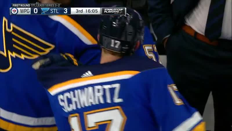 Round 1, Gm 6: Jets at Blues Apr 20, 2019