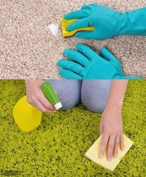 Простые и гениальные хитрости для уборки дома! 1. Очищаем самые грязные предметы в ванной. Старая шторка для ванной будет выглядеть, как из магазина, если все грязные участки и даже места с