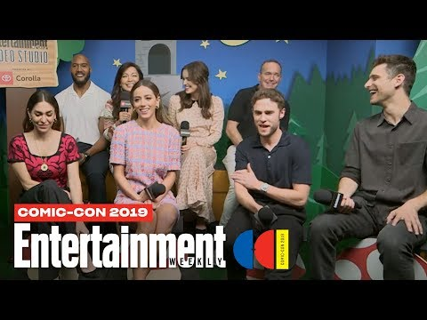 'Marvel's Agents Of S.H.I.E.L.D.' Cast Joins Us LIVE | SDCC 2019 | Entertainment Weekly