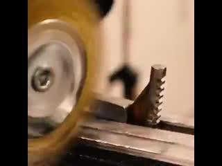 Реставрация старого разводного ключа