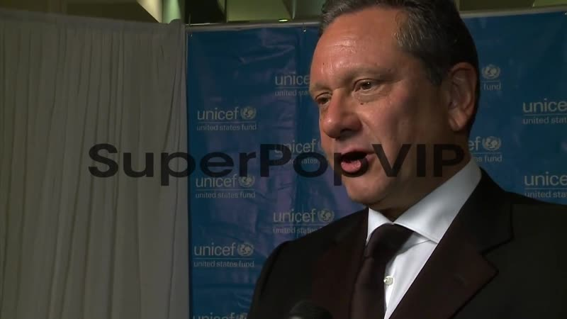2013 6-9, INTERVIEW at UNICEF Audrey Hepburn Society Ball - Sean Hepburn Ferrer on UNICEF and the event a...