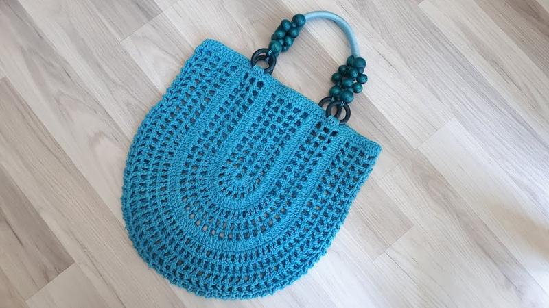 Kolay yazlık çanta yapılışı file çanta yapımıfabricación de bolsas fácil