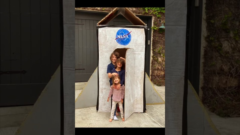 DIY: Rocket Ship for the Kids Plus Cosmos for the Adults