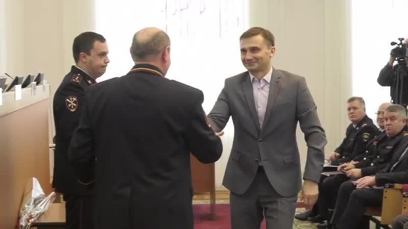 Директор ТРК Губерния получил почетную грамоту Главка