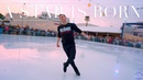 "Adam Rippon skates to Lady Gaga's Shallow"" in Santa Monica 4K"