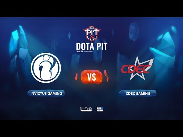 Invictus Gaming vs CDEC Gaming OGA Dota PIT Season 2 China bo3 game 2 Mortalles Lost
