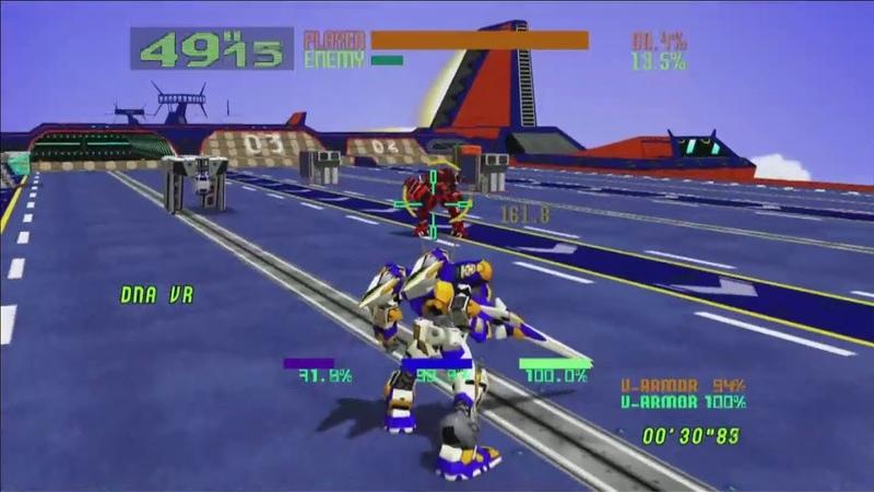 Virtual-On: Oratorio Tangram M.S.B.S. Ver. 5.66 - Twin Stick TGS 2019 Gameplay (Sega Stage Day 2)