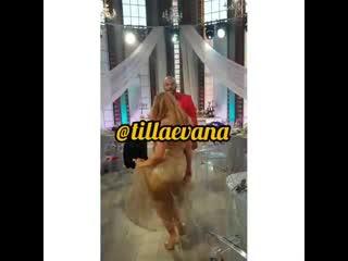 Танцы Ефременковой и Мондезира. Как думаете, будет свадьба