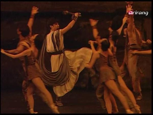 SPARTACUS ACT 1 ACT 2 yong geol KIM joo yoon BAE ARIRANG TV