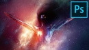 Create a Living Galaxy Photo Manipulation Effect in Photoshop