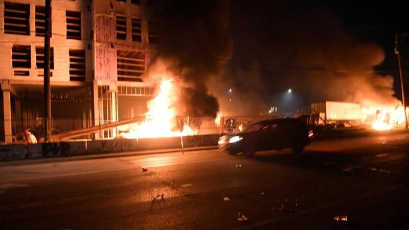 Беспорядки в Миннеаполисе США против Китая АМЕРИКА 28 05 20