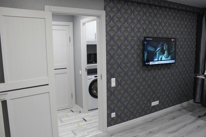 Ремонт в маленькой квартире - как было и как стало. Как вы относитесь к преобладанию серого в интерьере?