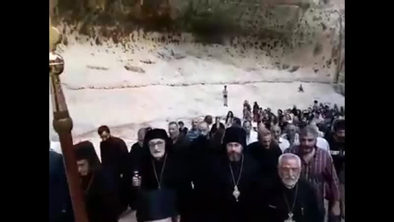 Православный крестный ход в Маалюле