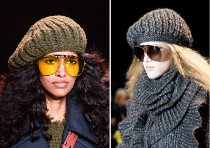 Утепляемся стильно: учимся сочетать головные уборы с шарфами и