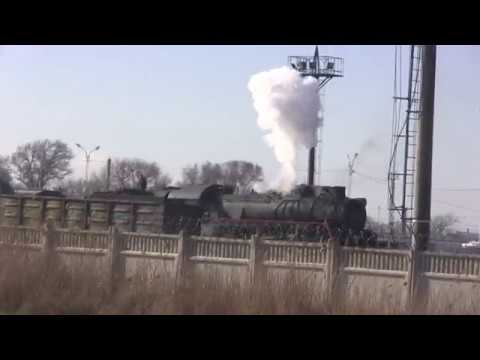 Керченская переправа.Паровоз Победы прибыл в Крым.