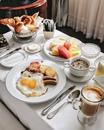 Доброе утро! Что у вас на завтрак?