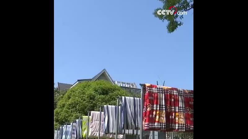В провинции Чжэцзян работницы студенческого общежития за неделю высушили 3000 одеял
