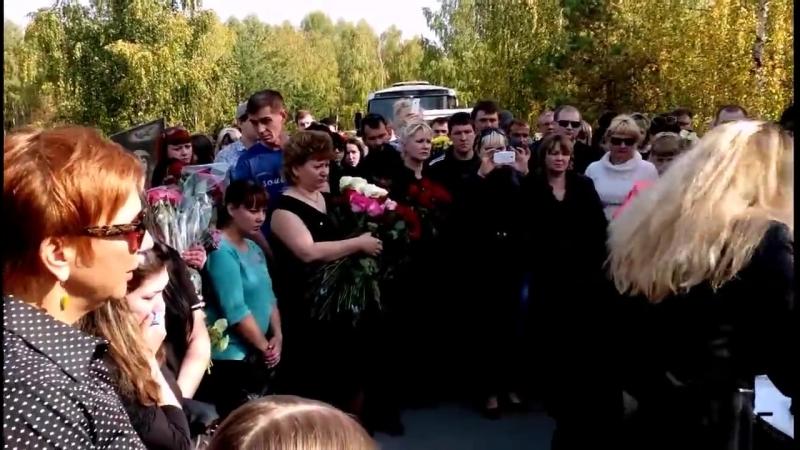 Похороны Аркадия Кобякова 23.09.2015