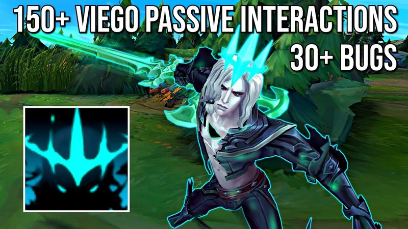 150 Viego Passive Interactions (30 Bugs included) [Yuumi, Ornn, Yone, Zac, Azir more...]