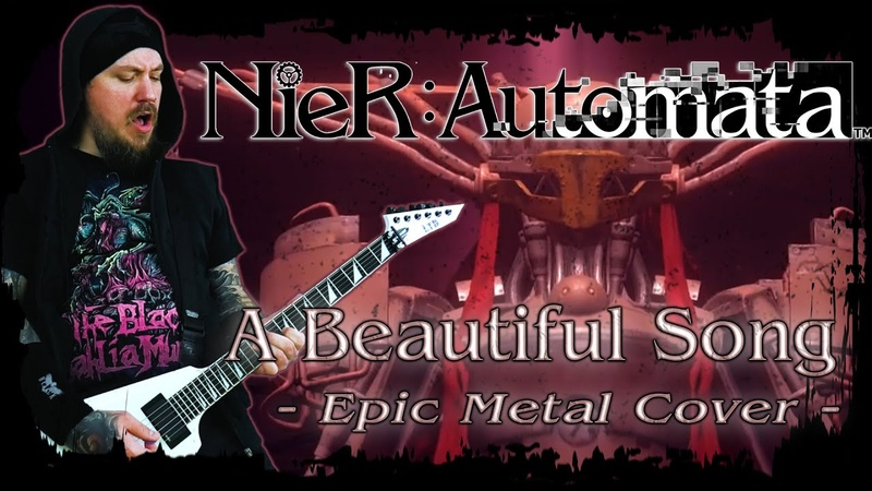 Nier Automata A Beautiful Song Epic Metal Cover by Skar Productions