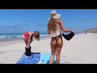 nude beach botomless naked nudist braless bitchinbubba нудизм на пляже голышом обнаженные