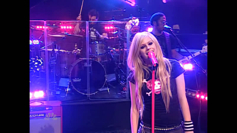 Avril Lavigne When You're Gone Last Call with Carson Daly