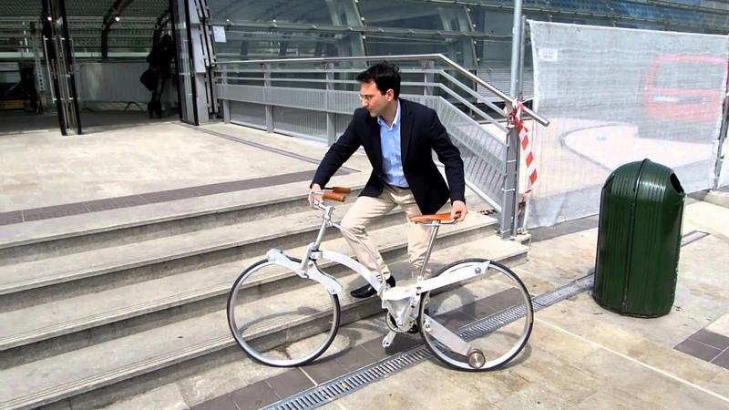 Sada Gianluca Hubless Foldable Sada Bike Eurobike