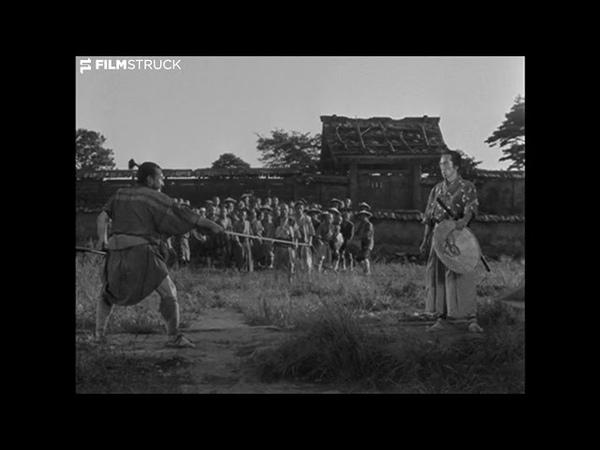 SEVEN SAMURAI Akira Kurosawa 1954 Sparring Scene