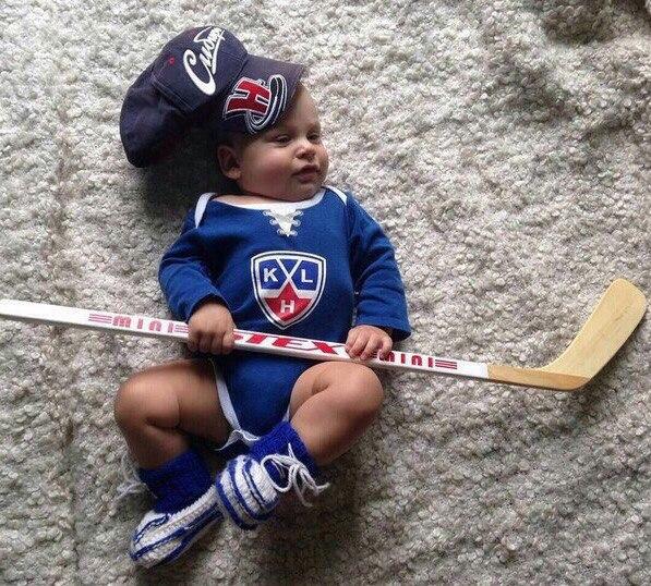 Открытка с днем рождения хоккеиста ребенка