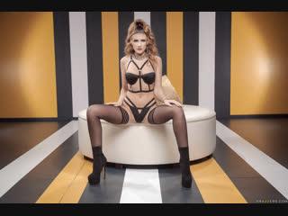 Michele James [PornMir, ПОРНО, new Porn, HD 1080, Big Tits,Black Stockings,Brunette,Caucasian,Leather,Medium Skin]