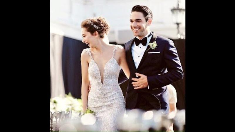 Neslihan Atagül ile Kadir Doğulu evlendi ! Неслихан Атагюль и Кадир Догулу поженились