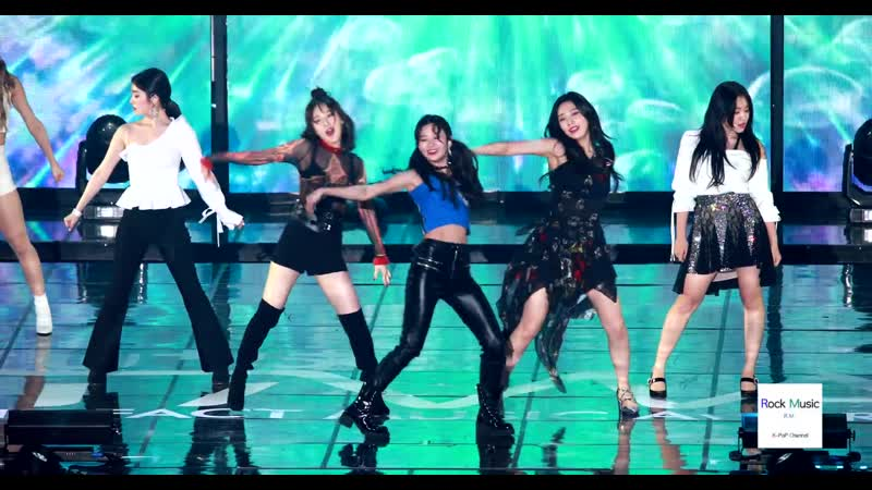 190424 U5G The Fact Music Awards| Red Velvet - Really Bad Boy (RBB) You Better Know [Fancam]