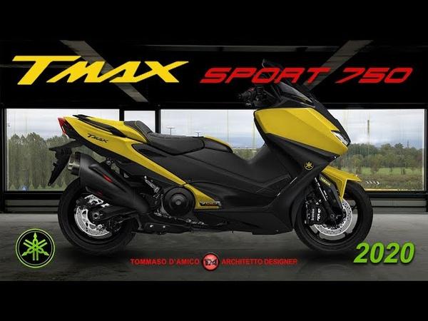 NUOVO TMAX 750 sport 2020 Sua maestà non ha rivali