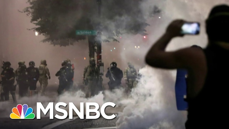 Russel Honoré On Feds in Portland What Kind Of Bullsh-t Is This! | The 11th Hour | MSNBC