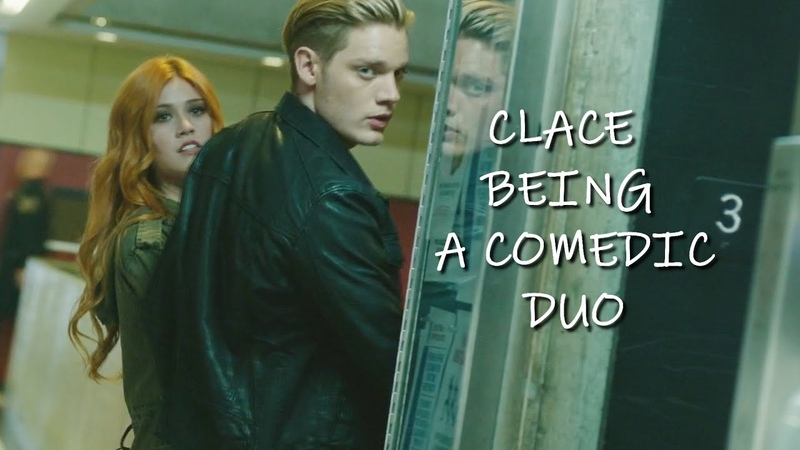 Clace being a comedic duo for 1 minute 40 seconds