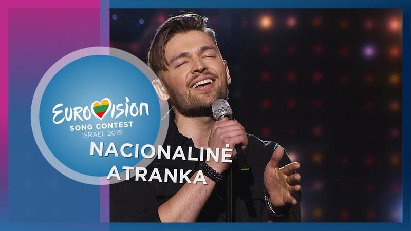 """Jurijus - """"Run With The Lions"""" - Nacionalinė Eurovizijos atranka"""