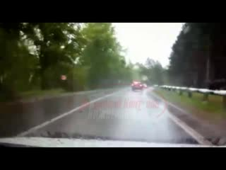 Видео момента смертельного ДТП