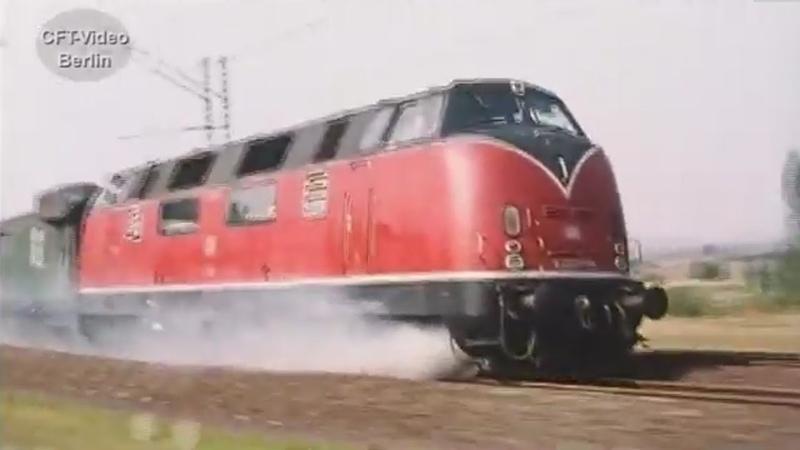Die Lok brennt!/The locomotive is on fire!
