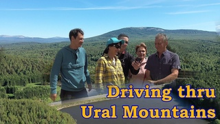 Driving thru Ural Mountains: Zlatoust, Taganai National Park and Horse Tack Company Tour!