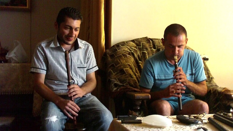 Avag Margaryan Emmanuel Hovhannisyan - chargah2010 blul duduk chargah improvisation dudukman