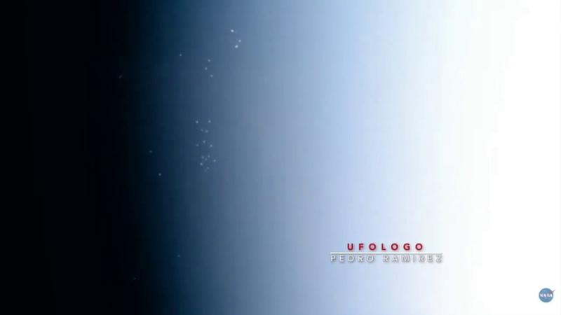 ISS Fleet of UFOs