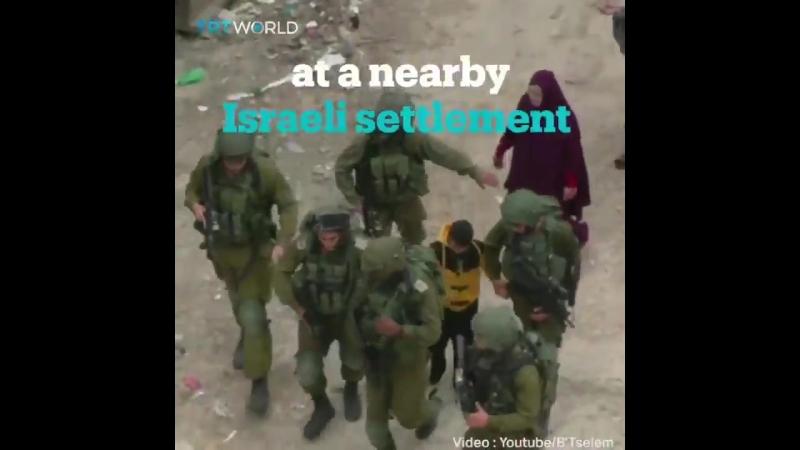 Сионисты и палестинские дети