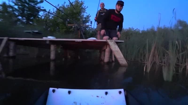 Сумасшедшая рыбалка на карпа